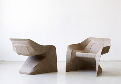studio aisslinger hemp chairs via aisslinger.de