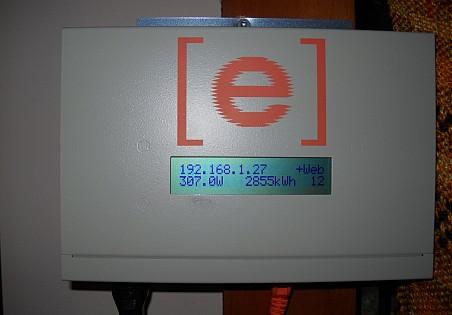 Enphase monitoring panel.  Photo: Cris Carl