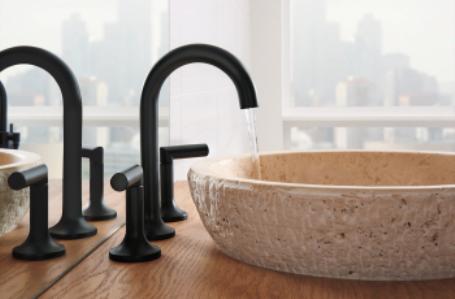 Black faucet / Quality Bath
