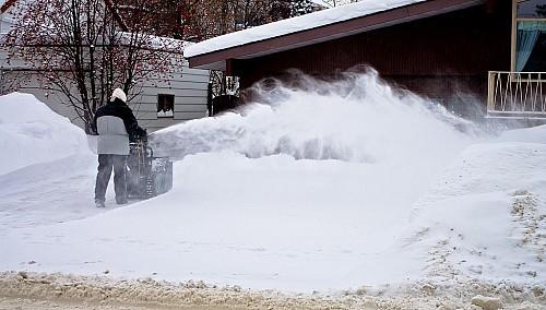 Snow blower by Kurt Bauschardt/Wikimedia Commons