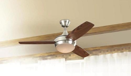 Ceiling fan light/Courtesy of Lowe's
