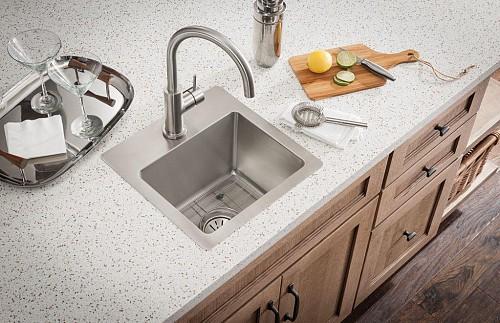 Successful sink installation/courtesy Elkay