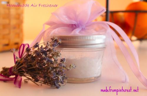 DIY homemade air freshener, lavender scent