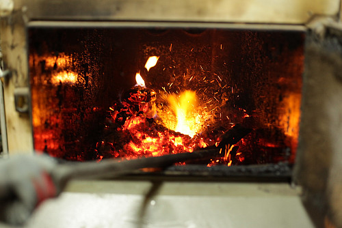 Fireplace by Cristian Bortes/flickr