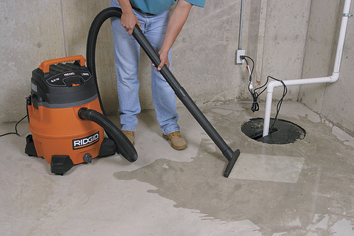 Powerful, Rugged, and Tough - RIDGID® Wet / Dry Vacuum (WD1450)