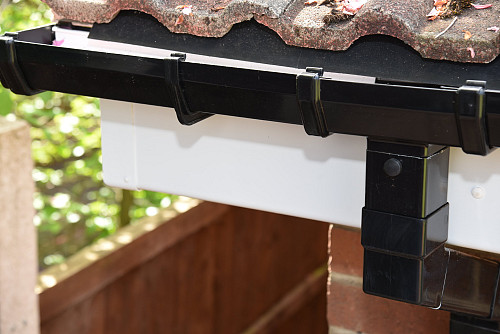 UPVC fascia gutter by stormcladhomeimprovements