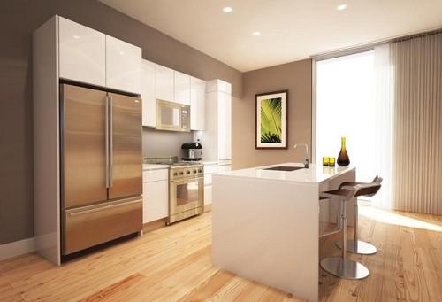 Modern beige kitchen and photo by Dayoris Custom via Hometalk.com.