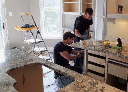 Granite countertop installation  Tino Rossini / flickr
