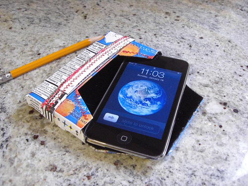 Juice box iPhone case and photo by Randomly Ross/Flickr