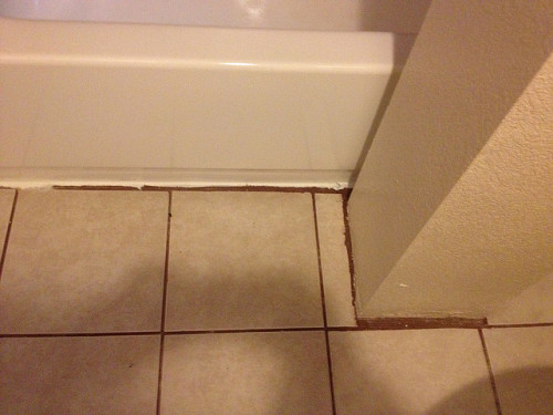 bad tile job