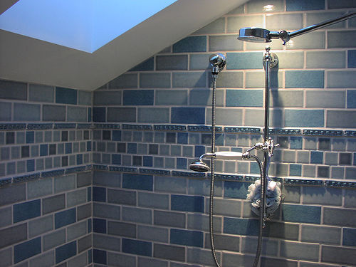 Good tiles for the shower networx for What type of tile for bathroom floor