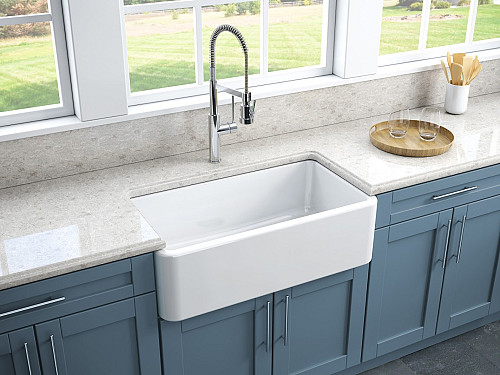 Install A Fireclay Kitchen Sink? Find Out The Inside Info - Networx