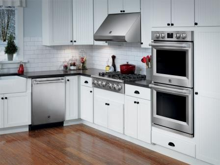 Stainless steel kitchen/Sears (by permission)