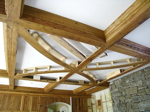 Living room ceiling by Brock Builders/flickr