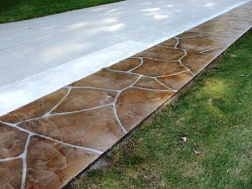 Resurfaced driveway  Decorative Concrete Kingdom / flickr