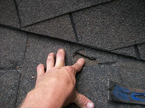 Shingle roof repair  Dana Dean / flickr