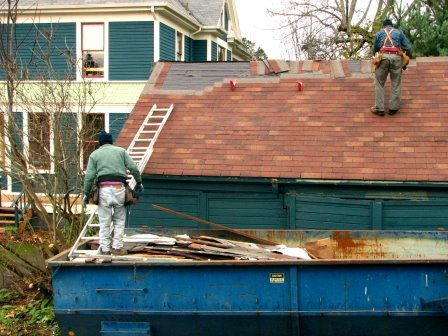 Roof replacement  Dave O / flickr