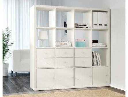 The Kallax series from IKEA