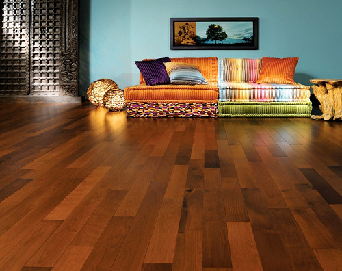 Handsome hardwood floor by Boa-Franc