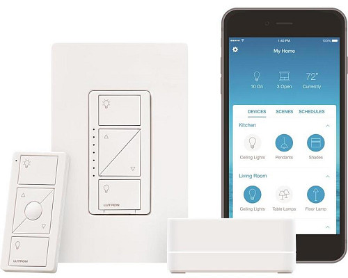 Smart dimmer switch/Courtesy of Lowe's