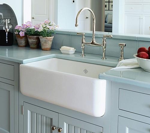 Quality Bath/Rohl Fireclay Sink