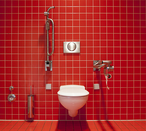 Bathroom grab bar by chriskeller/pixabay