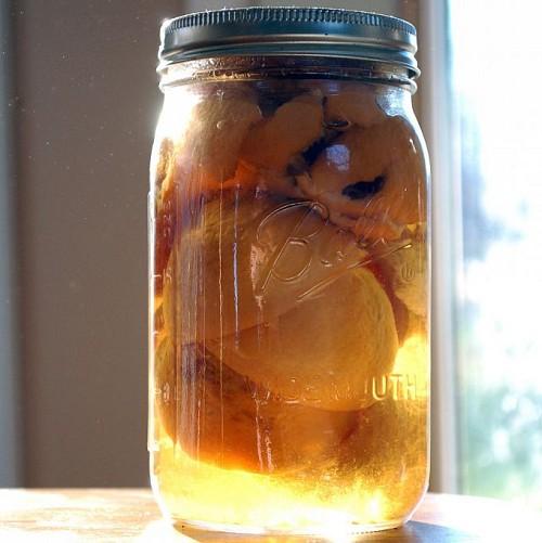 Homemade DIY citrus vinegar all purpose cleaner by SimplyDixon.com via Hometalk