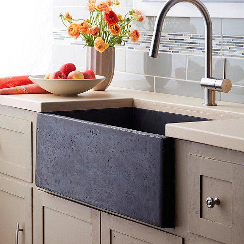 Concrete Sinks Are One Of The Hottest Trends For Kitchen And Bathroom Sink  Designs. Concrete Is A Durable, Affordable Building Material, ...
