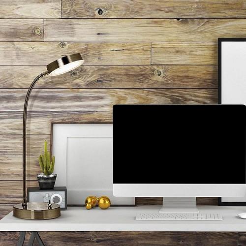 Task lighting desk lamp/Courtesy of Lowe's