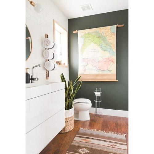Bathroom paint / courtesy Vintage Revivals