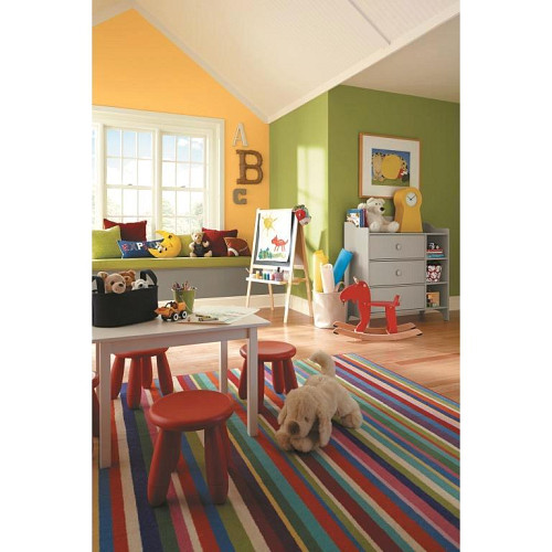 Kids' bedroom paint / courtesy Sherwin-Williams