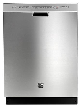 Gleaming stainless steel dishwasher/Sears (by permission)