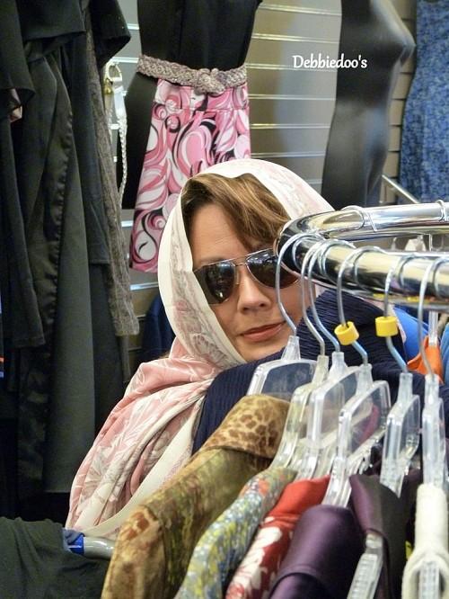 Thrift shopping for clothes by Debbiedoos via Hometalk.com.
