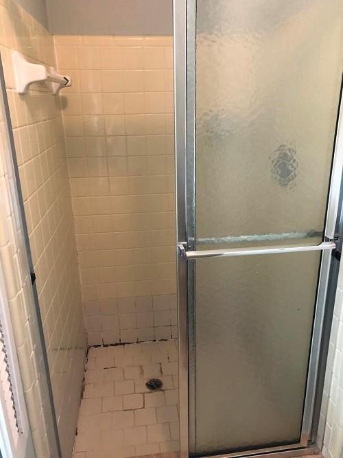 Fixer upper shower/courtesy Kate Wright