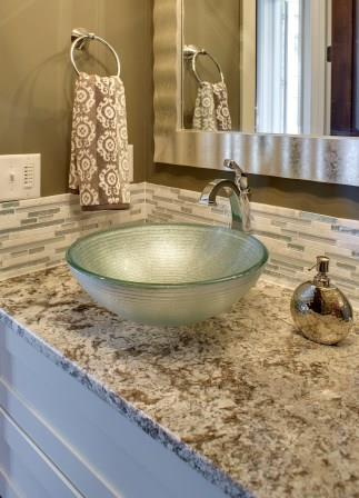 Granite vanity countertop / courtesy Coldspring