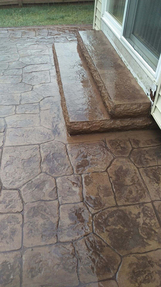 Two Thin Coats Will Protect Your Newly Stamped Concrete
