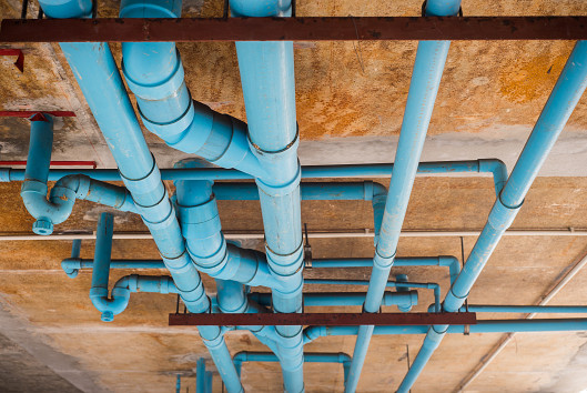 Pex piping vs copper piping networx for Plastic plumbing vs copper