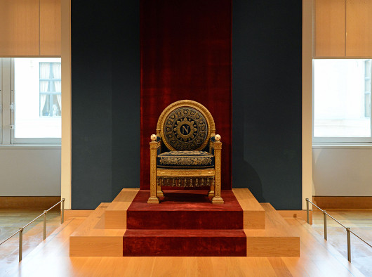 Napoleon's throne by Son of Groucho/Wikimedia Commons.
