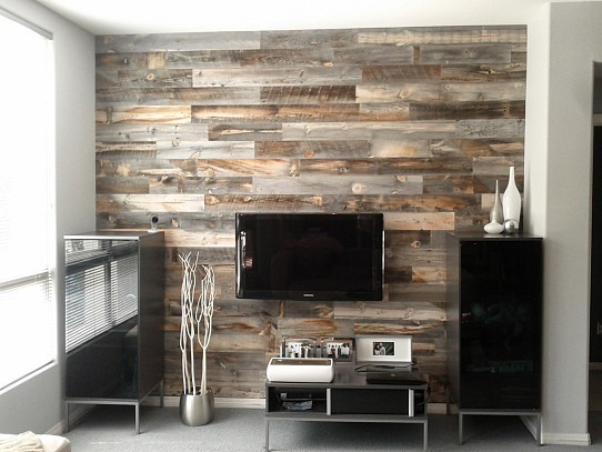 Reclaimed Weathered Wood By Stikwood Via Stickwood