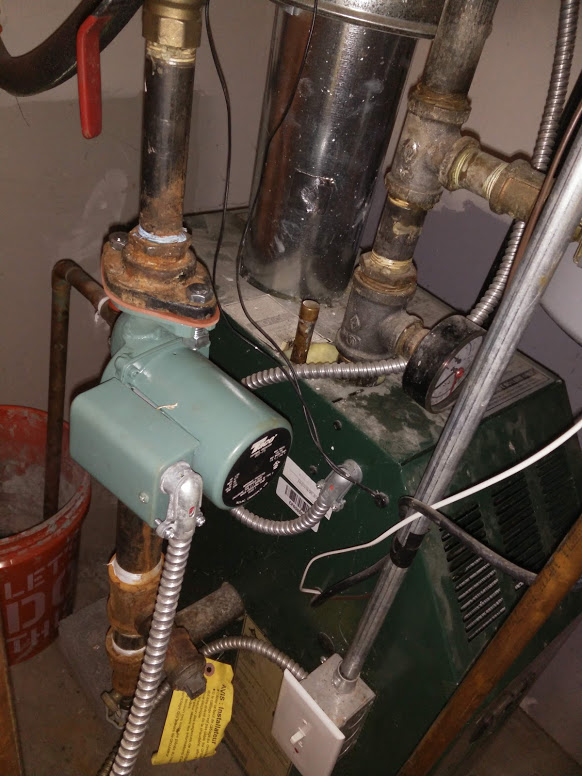 Furnace after repair
