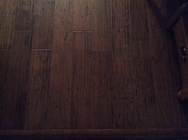 New engineered hardwood flooring