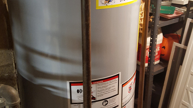 Brand new water heater install