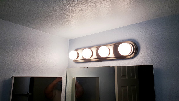 Vanity Light Fixture Replacement