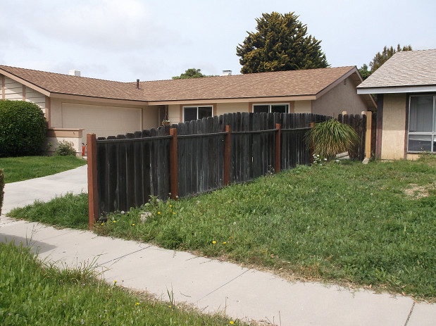 Fence post replacement adds curb appeal