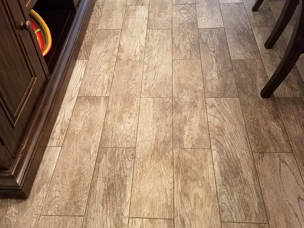 Perfect tile job