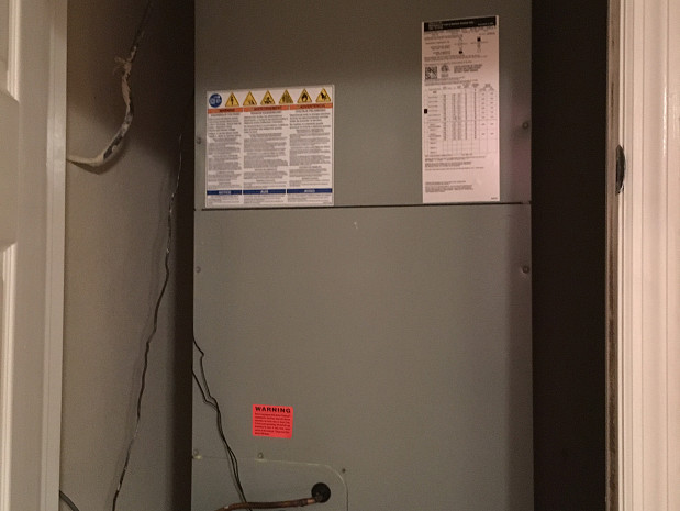 Central air conditioning replacement