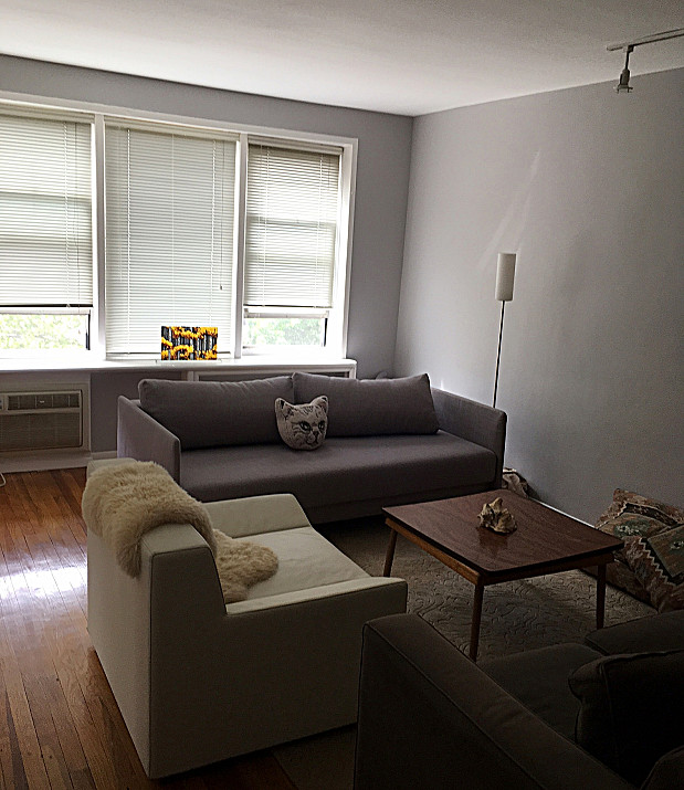 Freshly painted apartment