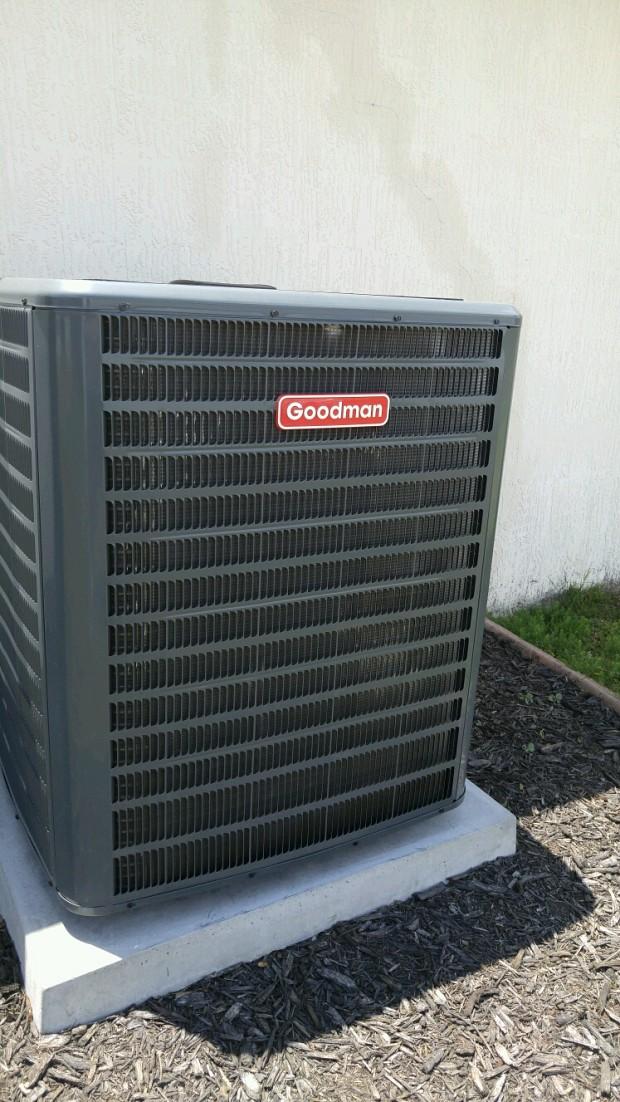 16 SEER heat pump