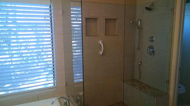 Separate tub & shower add property value