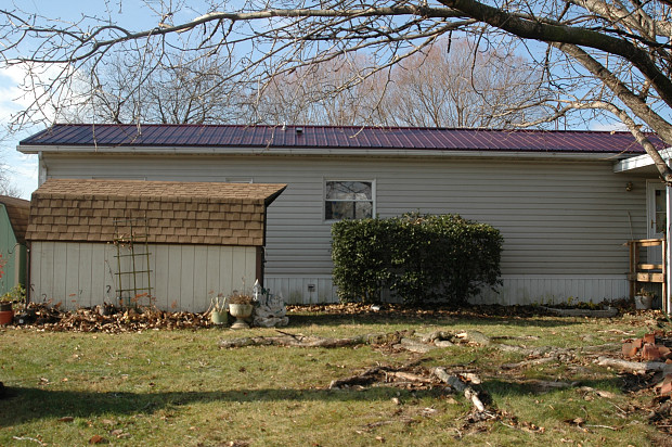 Excellent metal roof installation